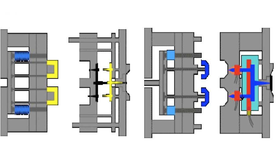 مقایسه قالب راهگاه گرم با قالب راهگاه سرد